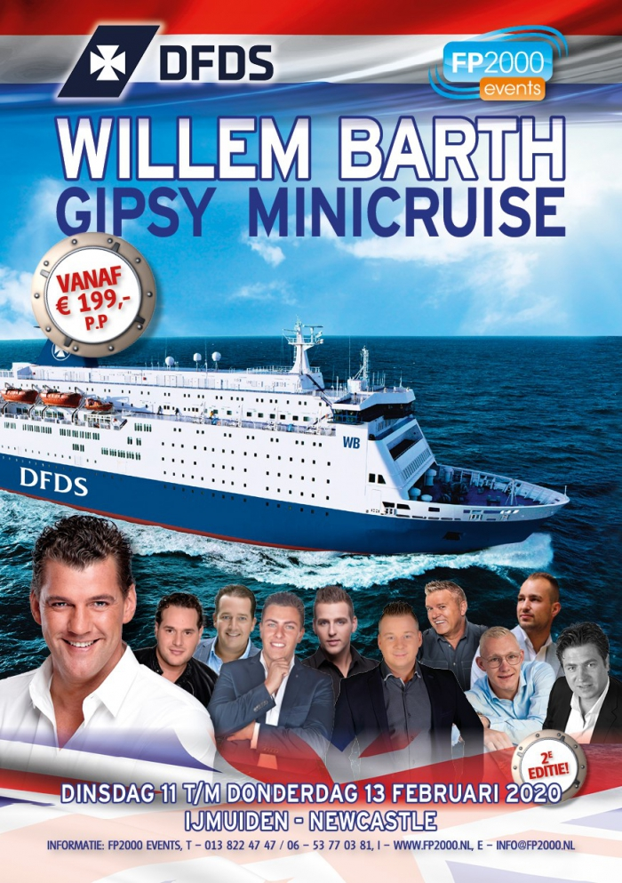 Willem Barth Gipsy Minicruise 2020